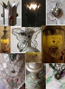 Detail Image for art Captured OOAK Art Doll - Lantern