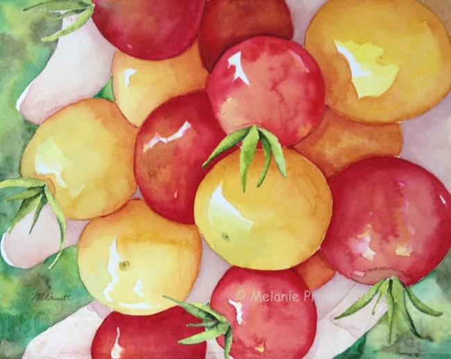 Art: Handful Harvest by Artist Melanie Pruitt