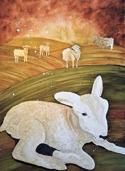 Art: Lamb by Artist Melanie Pruitt
