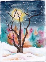 Art: Frozen Moonlight copy 3.jpg by Artist Melanie Pruitt