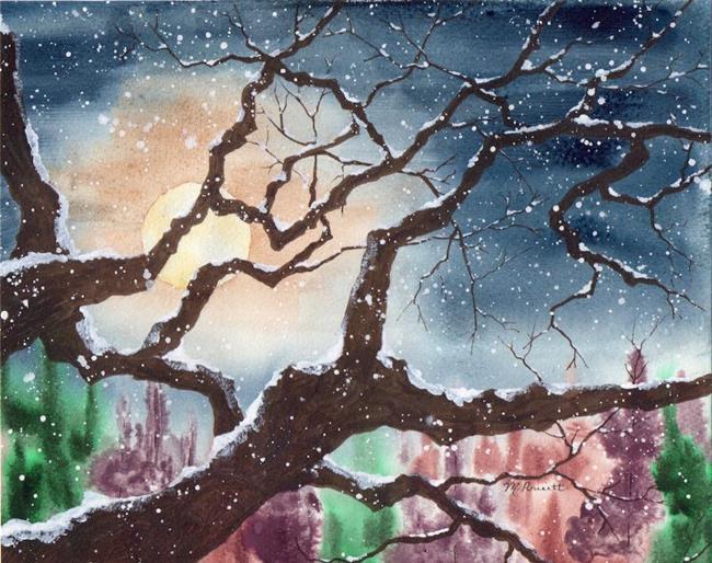 Art: It's Cold Outside by Artist Melanie Pruitt