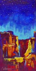 Art: Red Wind Canyon #1 by Artist Christine Wasankari