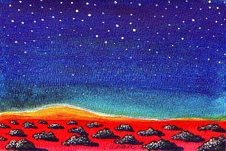 Art:  Deep Peace by Artist Christine Wasankari