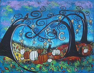 Art: Autumn Mischief by Artist Juli Cady Ryan