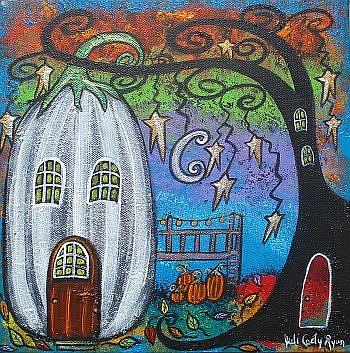 Art: Autumn Love by Artist Juli Cady Ryan