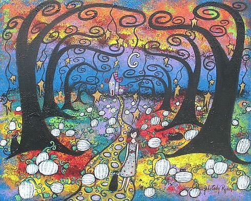Art: Autumn Enchantment by Artist Juli Cady Ryan