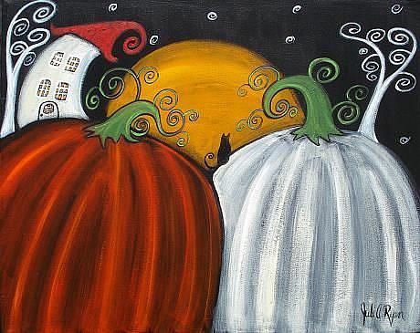 Art: Welcome Fall! by Artist Juli Cady Ryan