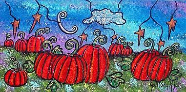Art: The Pumkin Patch by Artist Juli Cady Ryan
