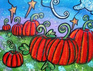 Detail Image for art The Pumkin Patch