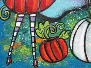Detail Image for art The Pumpkin Fairy