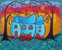 Art: Fall Magic II by Artist Juli Cady Ryan