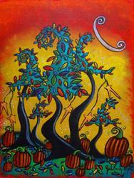 Art: Autumn Celebration by Artist Juli Cady Ryan