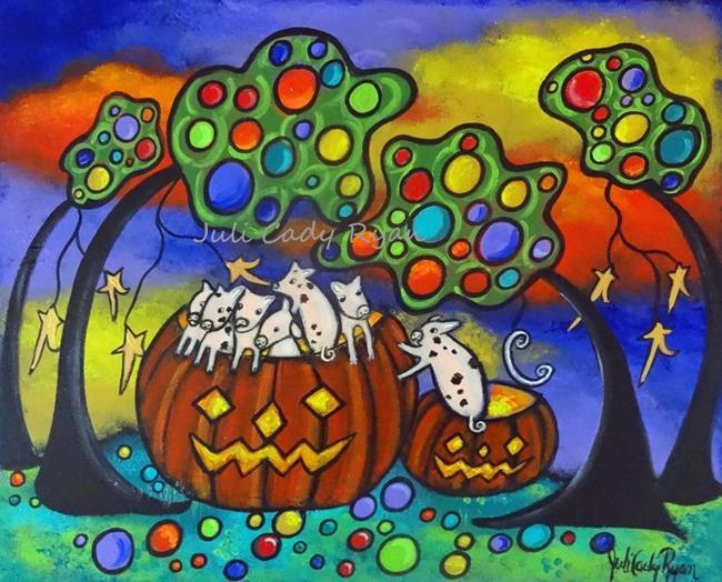 Art: Autumn Celebration II by Artist Juli Cady Ryan