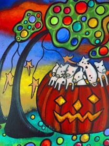 Detail Image for art Autumn Celebration II