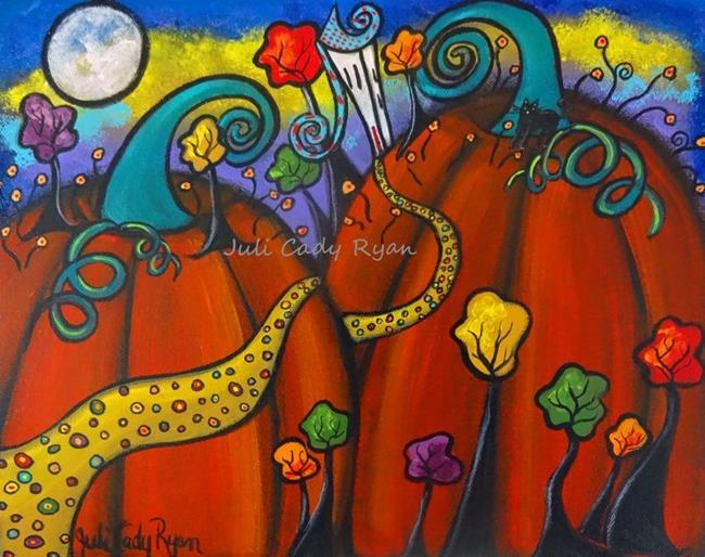 Art: On the Path to Autumn by Artist Juli Cady Ryan