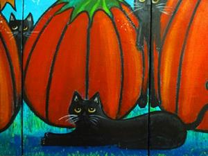 Detail Image for art A Frolicking Fall