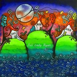 Art: A Festive Fall by Artist Juli Cady Ryan