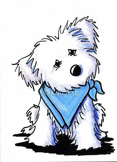 maltese dog clipart - photo #18