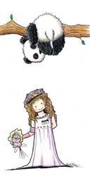 Art: Panda ... Moni! ... Um! by Artist KiniArt