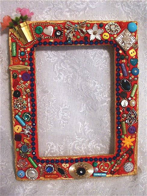 art pair of jewelry mosaic frames available by artist laura winzeler - Mosaic Picture Frames