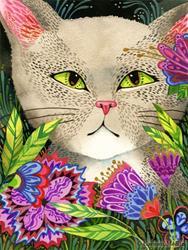 Art: Secret Garden - Available by Artist Carmen Medlin