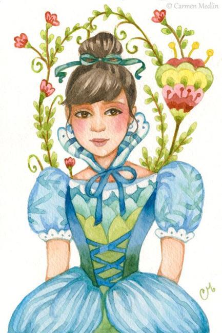 Art: Garden Gown - Available by Artist Carmen Medlin