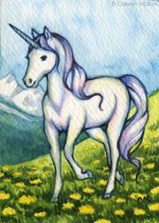 Art: Purity ACEO - Available by Artist Carmen Medlin