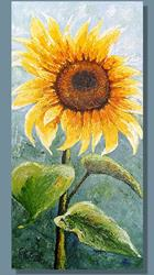 Art: Sunflower #4 by Artist Rita C. Ford