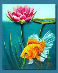Art: George by Artist Rita C. Ford
