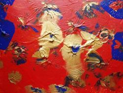 Art: Orange Lillys    SOLD by Artist Di  Wendy Peel