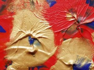 Detail Image for art Orange Lillys    SOLD
