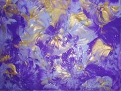 Art: Blue Daze     SOLD by Artist Di  Wendy Peel