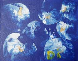 Art: Blue Day    SOLD by Artist Di  Wendy Peel