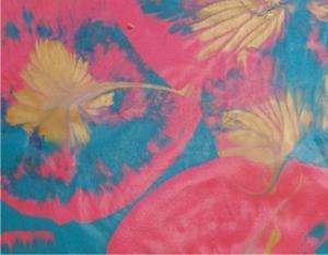 Detail Image for art Pink leaves    SOLD