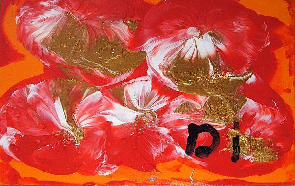 Art: Golden Sundate   SOLD by Artist Di  Wendy Peel