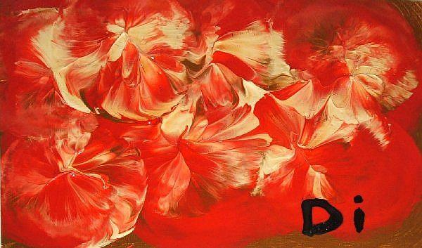 Art: Strawberrys & Cream   SOLD by Artist Di  Wendy Peel