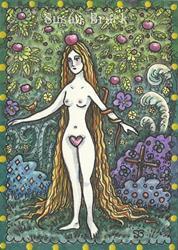 Art: IN THE BALANCE OF EDEN by Artist Susan Brack