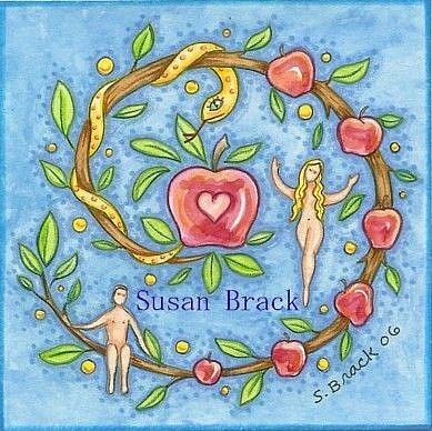 Art: BRANCH OF TEMPTATION by Artist Susan Brack