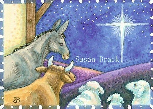 Art: PEACE ON EARTH by Artist Susan Brack