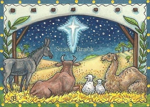 Art: FOLLOW THE NORTH STAR by Artist Susan Brack