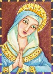 Art: MARY by Artist Susan Brack