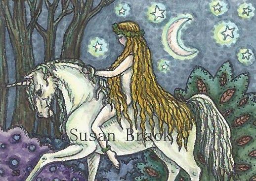 Art: IN THE LAND OF EDEN #2 by Artist Susan Brack