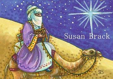 Art: BEARING GIFTS by Artist Susan Brack