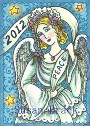 Art: HERALD PEACE IN THE NEW YEAR by Artist Susan Brack