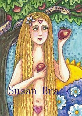 Art: ADAM'S APPLE by Artist Susan Brack