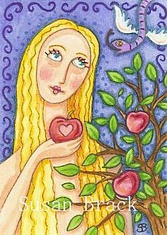 Art: EVE'S TEMPTATION by Artist Susan Brack