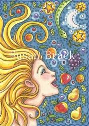 Art: TEMPTED BY THE FRUIT OF ANOTHER by Artist Susan Brack