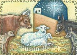 Art: WAITING FOR MARY by Artist Susan Brack
