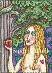 Art: JUST ONE BITE by Artist Susan Brack