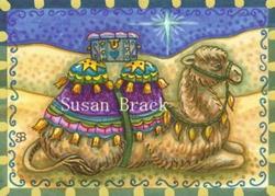Art: GIFT FOR THE KING by Artist Susan Brack